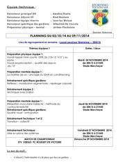 planning stv feminin du 03 11 2014 au 09 11 2014