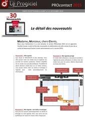 brochure logiciel procontact 2015