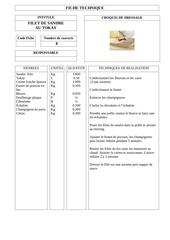 filet de sandre au tokay