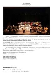 souscription cantata aymara noviembre 2014