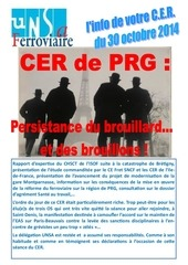 tract cer du 30 10 14
