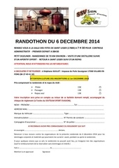 fichier inscription randothon 2014