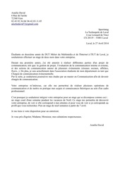 lettre stage sportintag