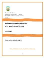 polycopi infectiologie pdiatrique 2013 1