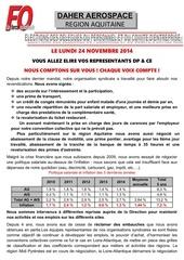 profession de foi elections 24 11 14 aquitaine