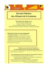 Fichier PDF mecenat allumes