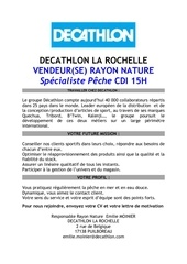 recrutement decathlon
