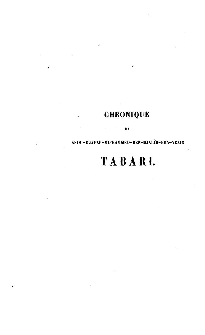 CHRONIQUE TABARI TÉLÉCHARGER GRATUIT DE