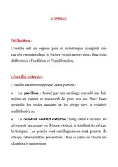 Fichier PDF l oreille