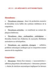 les medicaments anticoagulants