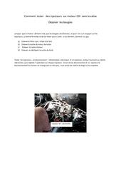 tester des injecteurs et remplacer bougies