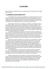Fichier PDF 0 le racisme