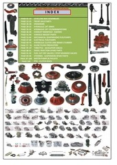 Fichier PDF complete tractor spare parts catalog