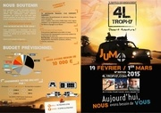 jumo 4l trophy plaquette officielle