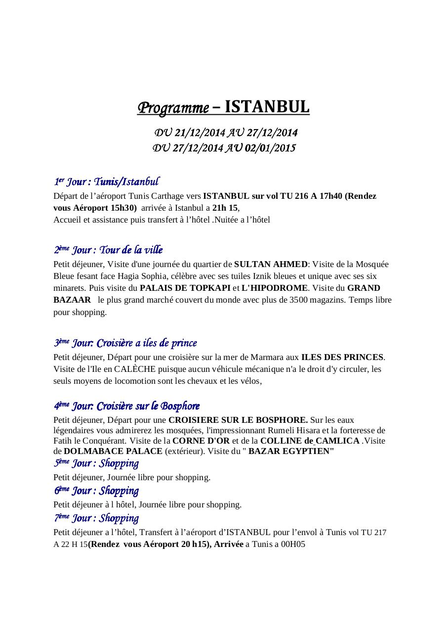 Aperçu du document إلى تركيا (1).pdf - page 1/2