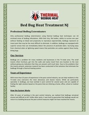 bed bug heat treatment nj