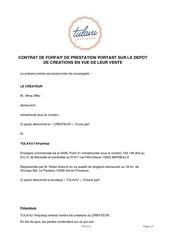 contrat createurs tulavu arty shop