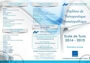 depliant dth1 tunis 2014 2015