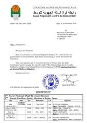 designations du 10 11 2014 rectificatif