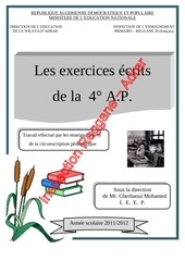 exercices ecrits 4 ap