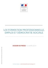 loi formation professionnelle 6mars2014