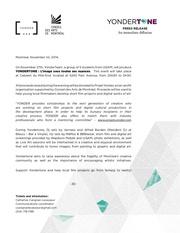 press release yondertone