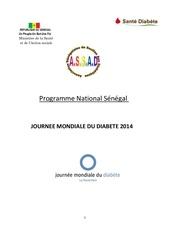 programme senegal jmd 2014