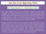 Fichier PDF san jose court reporting video