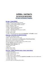 Fichier PDF voyage djerba