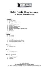 Fichier PDF buffet bonne fourchette