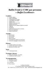 Fichier PDF buffet excellence