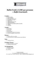 Fichier PDF buffet gourmand