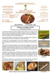 bulletin teigne de la pomme de terre n 30 2014 pdf