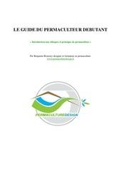 Fichier PDF guide du permaculteur debutant