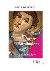 l europe avant l europe les carolingiens