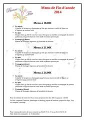 Fichier PDF menu de fetes
