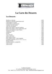 Fichier PDF repas chaud les desserts