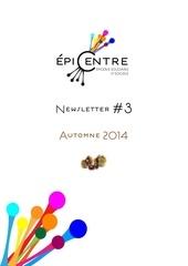 epi centre newsletter 3