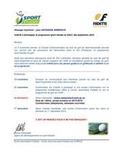 interet sE golf