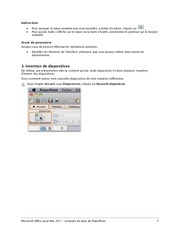 PowerPoint tutorial PowerPoint basic.pdf - page 5/22