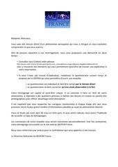 questionnaire standard v3m 4