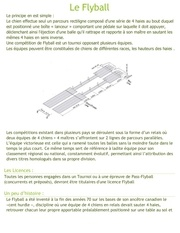 Fichier PDF le flyball