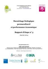 maraichage permaculturel et performance economique