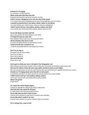 Fichier PDF musiques