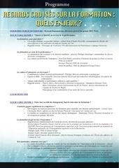 programme 2 decembre
