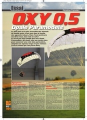 rc paramotor test rc pilot oxy 0 5 opale