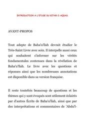 3 introduction a l etude du kitab i aqdas