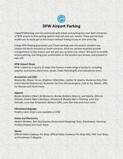 Fichier PDF dfw airport parking
