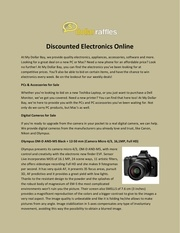 discounted electronics online