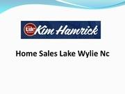 Fichier PDF home sales lake wylie nc